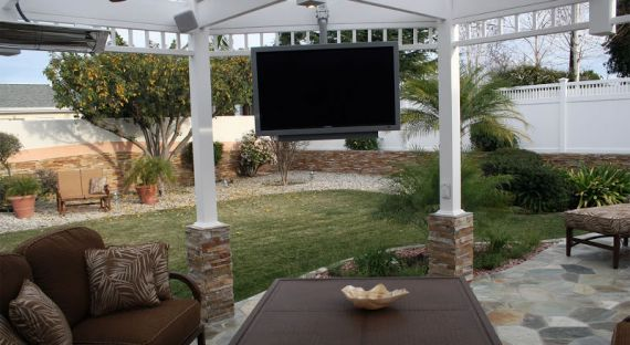 Backyard Outdoor TV